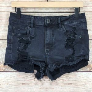"""American Eagle Outfitters """"Hi-Rise Shortie"""" shorts"""
